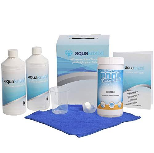 Aqua Kristal Chlor Wasseraufbereitung, Weiß