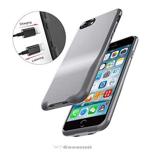 Cocomii Duo Lightning Audio Armor iPhone 8/iPhone 7 Hülle [Dual Lightning Jack Adapter Hülle] Anruf+Audio+Ladegerät Laden Und Musik Hören Case Schutzhülle for iPhone 8/iPhone 7 (Duo.Gray) Duo Shield Armor Case