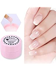 NICOLE DIARY 5ml Gel à la gelée opale Semi-transparent Blanc Soak Off Manucure Nail Art UV Gel Manucure DIY Polish