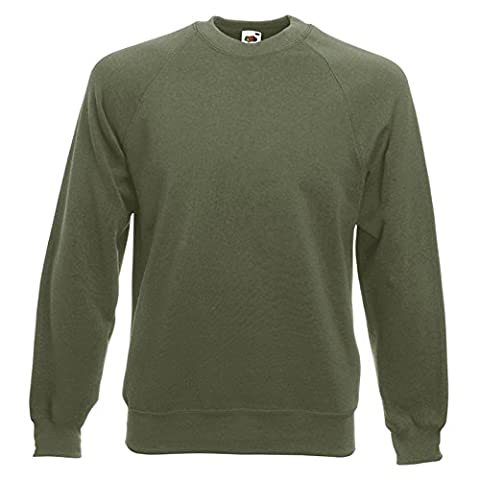 Fruit of the Loom - Sweat-shirt - Moderne - Homme X-Large - - Small
