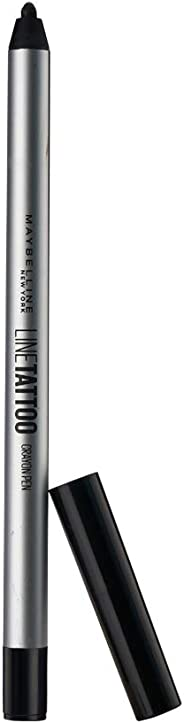 Maybelline New York Lne Tattoo Crayon Eyelner, Black, 0.4 ml