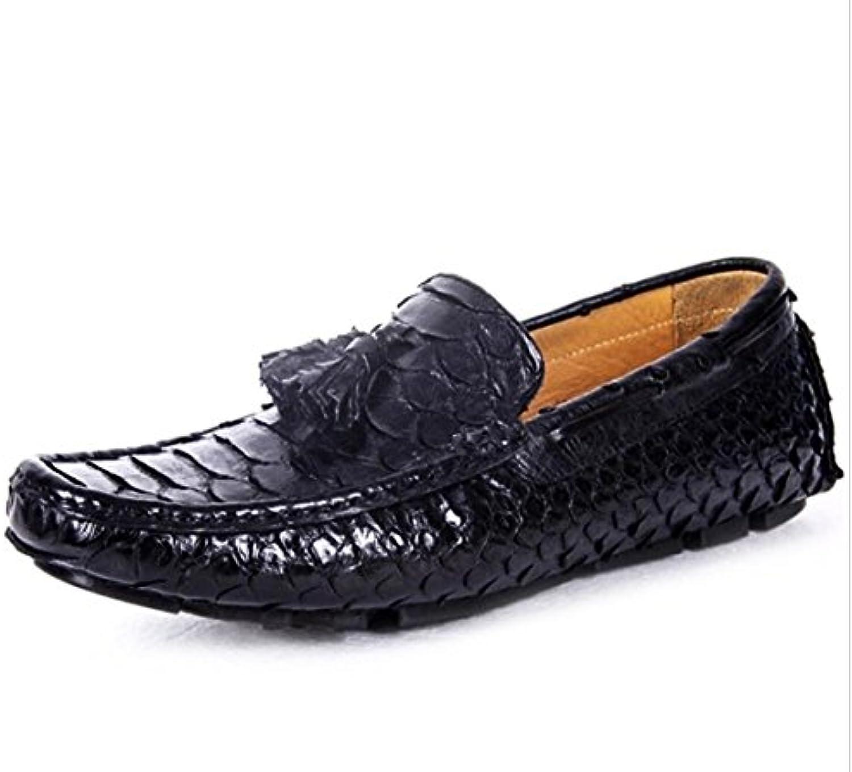 Mens Benutzerdefinierte Leder Slipper Laumlssig Set Füße Peas Schuhe High End Fahr Schuhe Bequem Bankett Schuhe