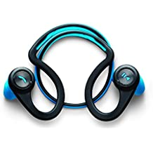 Plantronics BackBeat Fit - Auriculares In-ear inalámbricos (Bluetooth, 105 dB, 50 Hz - 20 kHz, a prueba de agua), color negro y azul