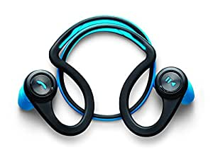 Plantronics BackBeat FIT Wireless Stereo Headphones with Armband for Smartphone - Blue