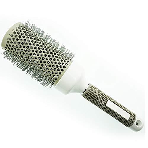 Qi Peng Nano Keramik Aluminium Rohr lockenwickler kamm luftkamm Flauschigen kamm kamm Haar gerade Haar kamm kamm zylinderförmig kamm (größe : 45mm) -