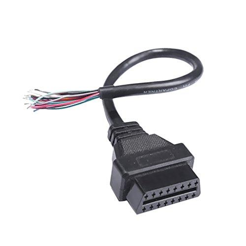 MagiDeal OBD2 16 Pin Buchse OBD II weibliches Diagnoseverbindungskabel Y-Kabel Ersatz
