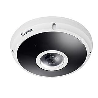 VIVOTEK FE9382-EHV 5MP CMOS Sensor Kamera 30 fps, H.265, 20M IR, Fisheye, EN50155, IP66, IK10 weiß