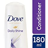 Dove Daily Shine Conditioner, 180 ml with Extra 10ml