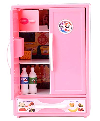 RATNA'S Premium Quality Toy Refrigerator for Kids(Pink)