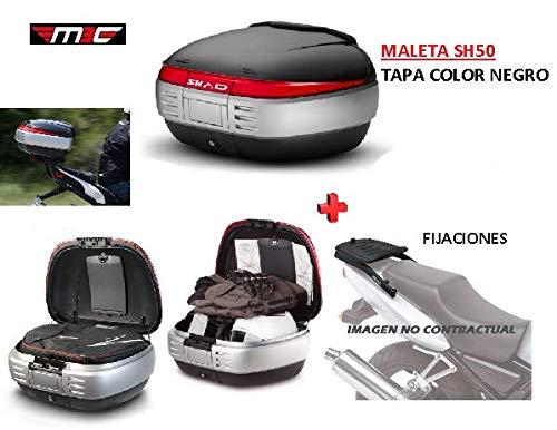 SHAD Kit BAUL Maleta Trasero SH50 litros + FIJACION