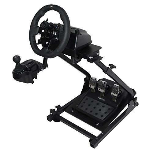 BuoQua G920 Steering Wheel Stand Per Logitech G27 G25 G29 E G920 Volante Con Supporto V2 Supporto Giochi Solo Supporto Ruota E Pedale Non Incluso
