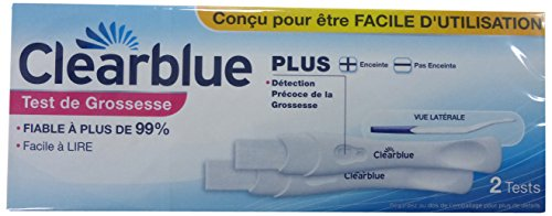 Clearblue Plus Pack de 2 Tests de Grossesse