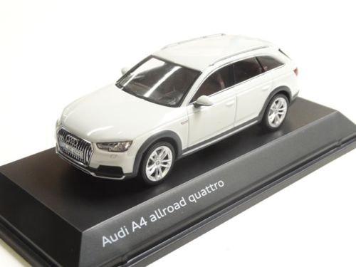 D'origine Audi A4Allroad modèle voiture 1: 43Glacier Blanc Modèle 2016