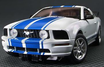 Transformers sventare Jack feat. Ford Mustang BT-14