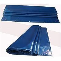 ZLZHW Paño A Prueba De Lluvia Tela Impermeabilizante Lona Azul Rojo para Muebles Al Aire Libre Picnic Vehículo Camping/Múltiples Tamaños Disponibles (Color : Azul, Tamaño : 5m*6m)