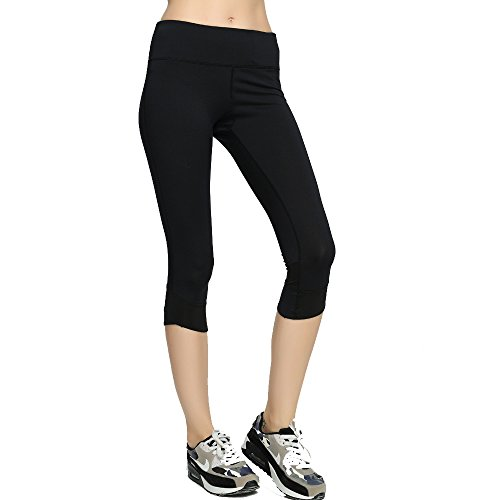 Run Tiger - Legging de sport - Femme Noir