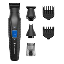 Remington Graphite G3, All-in-One Cordless Electric Trimmer, Body Groomer and Nose Hair Trimmer for Men, PG3000