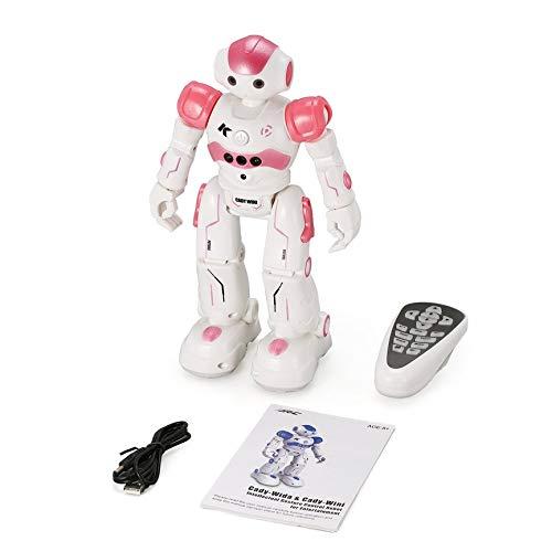 VCB R2 RC Roboter Spielzeug Tanzen Singen Walking Gestensteuerung USB Aufladung - Pink - Walking-spielzeug-roboter