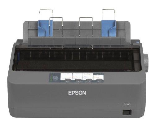 Epson LQ-350 Stampante ad Aghi, Sistema di Stampa 24 Aghi a Impatto, 80 Colonne
