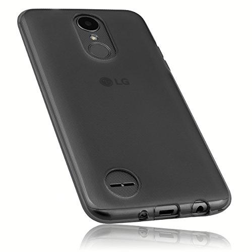 mumbi Schutzhülle für LG K4 (2017) Hülle transparent schwarz