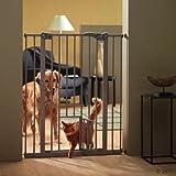 Wangado - Divisorio Regolabile per Cani di Taglia Media o Grande, con Porta di Passaggio per Il Padrone e 2 Chiusure di Sicurezza da Esterno Outdoor