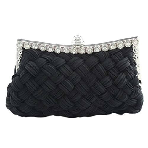 PRIAMS 7 , Damen Clutch Schwarz