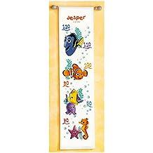Vervaco Nemo - Kit de punto de cruz contado, acrílico, multicolor, 18 x 70 cm