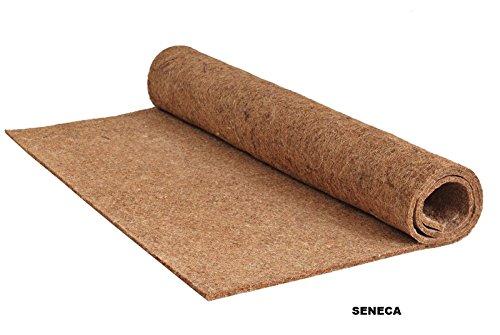 Natürliche Matratzenauflagen (Kokosfasermatte / Kokosmatte/ Matratzenauflage / Winterschutz für Pflanzen 140x200)