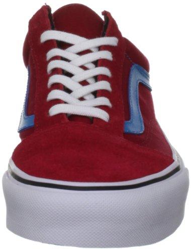 Vans U OLD SKOOL VSDI7ZH Unisex-Erwachsene Sneaker Rot (chili pepper/me)