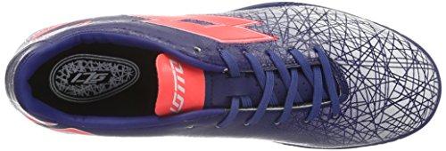 Lotto Herren Lzg Viii 700 TF Fußballschuhe Azul / Rojo (Blu Twi / Red Fl)