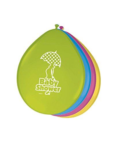 s Deko bunt Babyparty Babyshower (Babyshower Ballons)