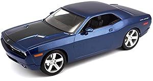 Maisto- Dodge Challenger Concept, Color Azul (M36138)