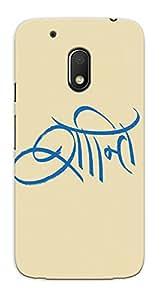 Kaira High Quality Printed Designer Back Case Cover For Motorola Moto G4 Play(163)