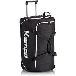 Kempa Trolley Bag L Taschen, Schwarz/Weiß, L