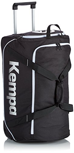Kempa Uni Trolley-200490101 Tasche Schwarz (Negro/Blanco) 45 cm