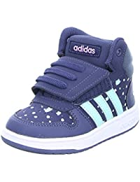 newest f961e a3de3 adidas B75953 Blu dal 20 al 27 Sneakers con Strappo Scarpe Bambina  Ginnastica