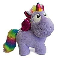 "Little Babas Cute Soft Plush Rainbow Unicorn Toys 3 Colours to Collect 13"" (33cm) (Purple) LARGE"