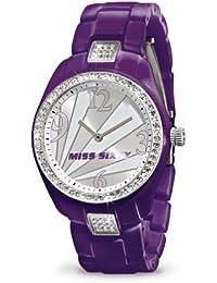 Miss Sixty SRA003 - Reloj de pulsera para mujer, plata