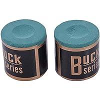 B Baosity 2 Pieces Pool Snooker Billiard Cue Tip Table Chalk Supplies Club Accessories