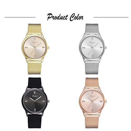Altsommer Frauen Sport Uhren,Armbanduhr mit 8 mm Zifferblattstärke aus Silikonarmband,Damen Uhr mit Silikon Armband mit 240 mm Bandlänge, Uhr mit Viele Farben,Silber (Silber)