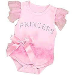 Riou-Baby Mochila Infantil de Algodón Niñas Rosa 12-18 Meses