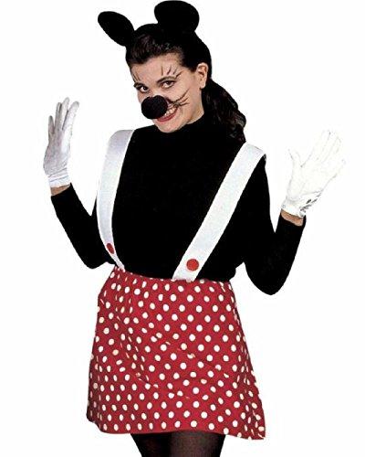 Set Costume Carnevale Adulto da Topino , Topina *20023 Abito Coppia-donna