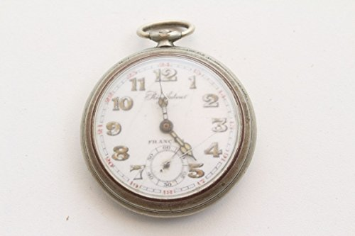 Unbekannt Schöne alte Taschenuhr Regulateur Francais Rosskopf Um 1900 Lumi-Zeiger Antik