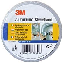 3M - Cinta adhesiva de aluminio (50 mm x 15 m)