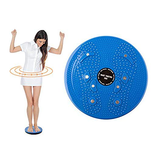 ZYJFP Twist Cintura Disc,Cuerpo del Tobillo Ejercicio aerobico Balance de la Junta Rotativa Torcer el Disco de la Cintura
