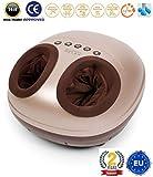 VITALZEN MINI® Massaggiatore per piedi (modello 2019) - Massaggiatore elettrici con massaggio per compressione, termale e pressoterapia - 2 Anni di Garanzia GLOBAL RELAX® Italia