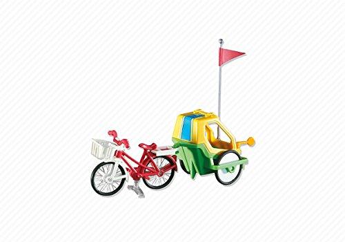 Playmobil 6388 Fahrrad mit Kinderanhänger (Folienverpackung)
