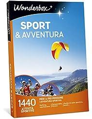 WONDERBOX Cofanetto Regalo per Lui - Sport & Avventura - 1440 attività Sportive per 1 O più Persone