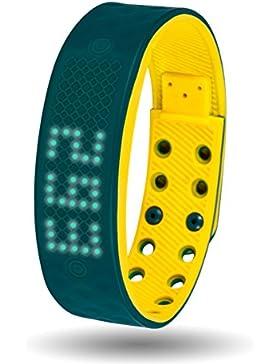 Multifunktions uhren trendige smart uhren leuchtende wasserdichtes armband boys digital watch-E