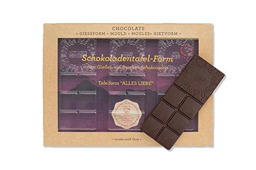 """ChoQlate Schokoladenform""""Alles Liebe"""", 1er Pack (1 x 55 g)"""